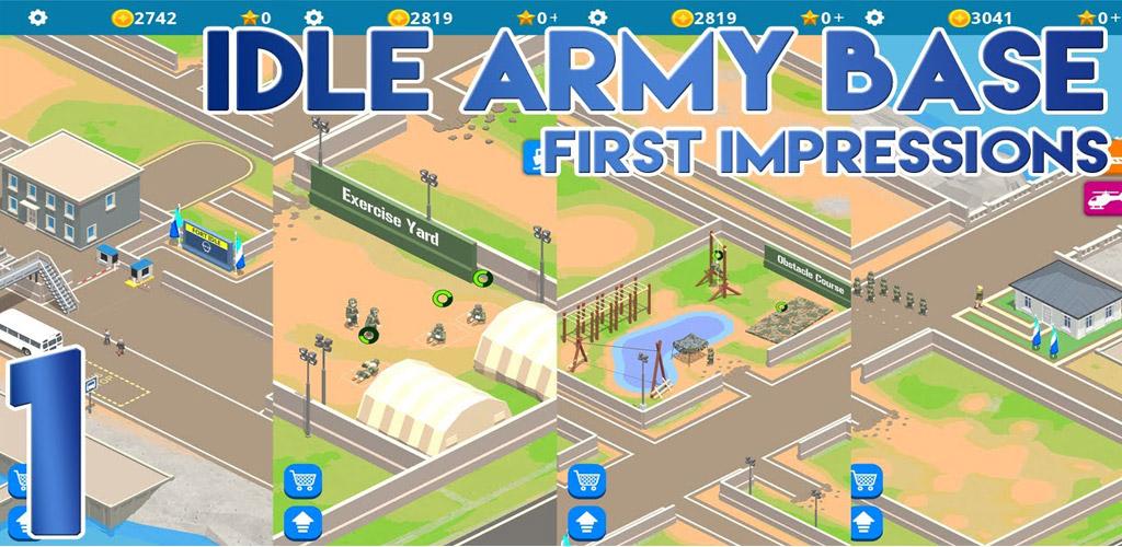 دانلود Idle Army Base 1.7.0 - بازی اکشن پایگاه ارتش برای اندروید
