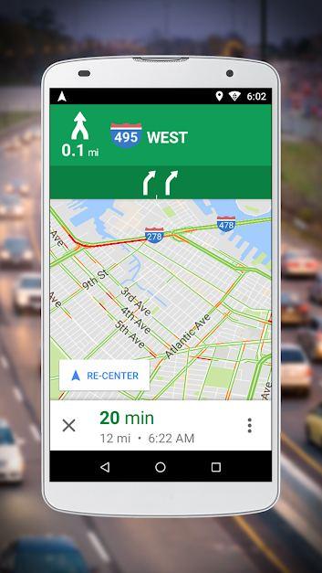 دانلود Navigation for Google Maps Go - اپلیکیشن مسیریابی ...