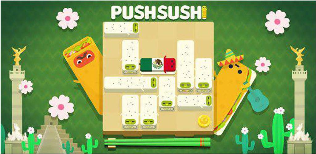 دانلود Push Sushi 1.0.17 - بازی فشار سوشی ها برای اندروید