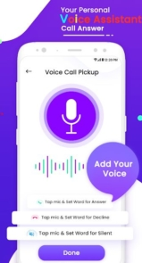 Voice Call Pickup – Pickup Call With Voice Command Pro-3