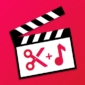 iShot Video Editor free video maker, crop video-Logo