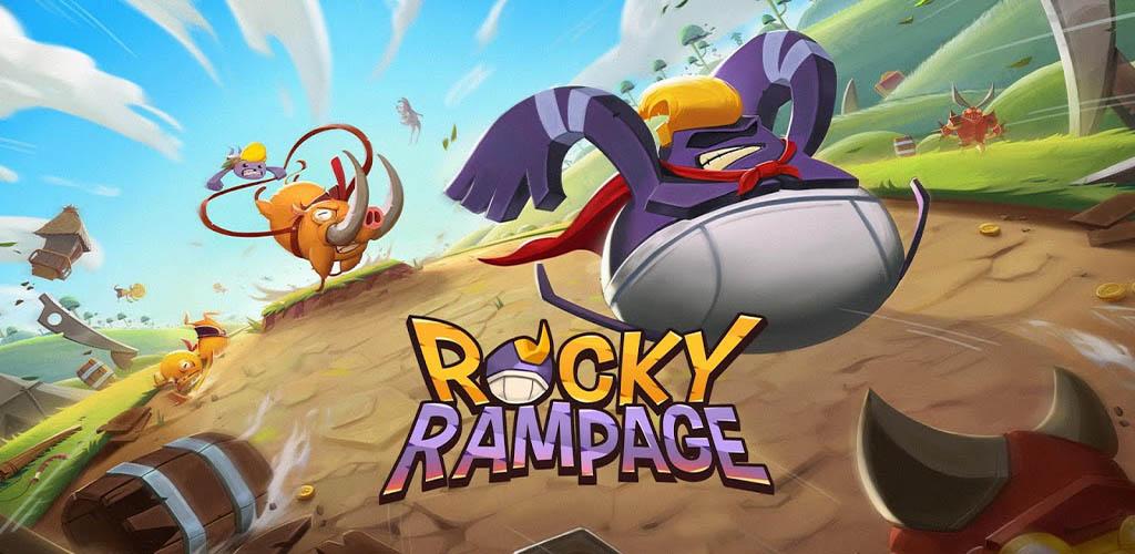 دانلود Rocky Rampage: Wreck 'em Up – بازی نهایت خشم اندروید