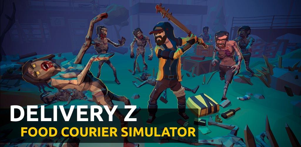 دانلودDelivery Z: Food Courier Simulator – بازی شبیه سازی پیک غذا اندروید