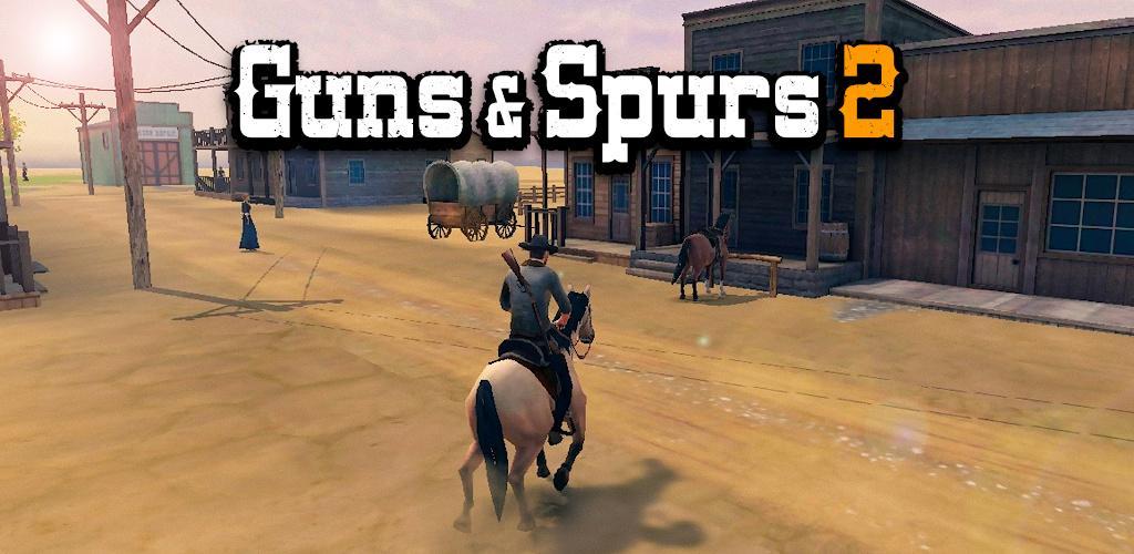 دانلود  Guns and Spurs 2– بازی تفنگ و مهمیز اندروید + مود
