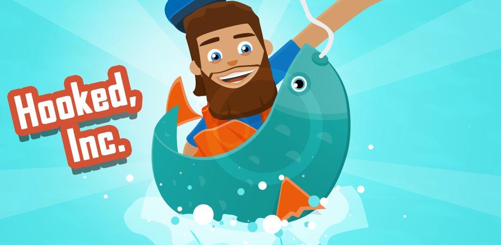 دانلودHooked Inc: Fisher Tycoon – بازی ماهیگیر پولدار اندروید + مود