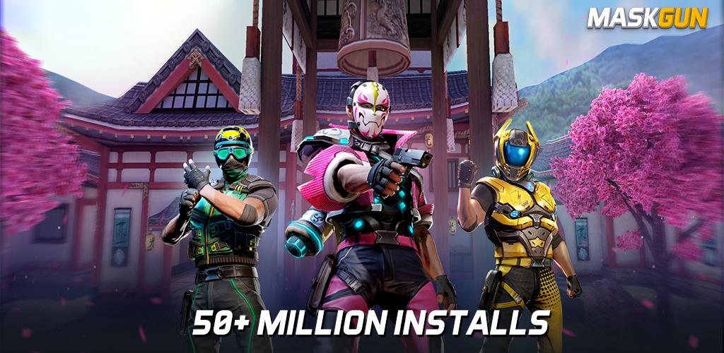 دانلود MaskGun Multiplayer FPS – بازی آنلاین ماسک گان اندروید + مود