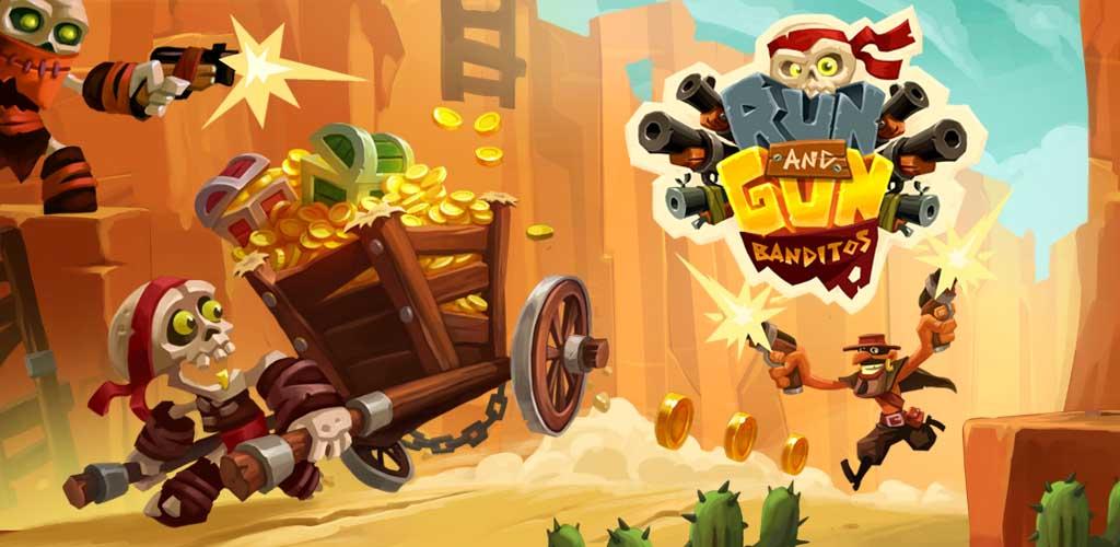دانلود Run & Gun: BANDITOS – بازی کابویی راهزنان اندروید + مود