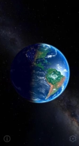 3D Earth & Real Moon. Live Wallpaper.-8