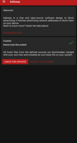دانلود AdAway – اپلیکیشن مسدود سازی تبلیغات برای اندروید