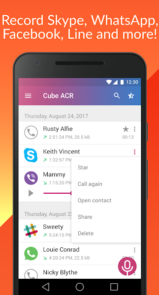 دانلود Call Recorder - Cube ACR – اپلیکیشن ضبط تماس برای اندروید