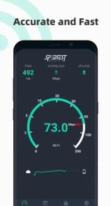 Free Internet speed test - SpeedTest Master-1