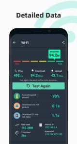 Free Internet speed test - SpeedTest Master-2