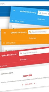 Oxford Dictionary of English & Thesaurus-19