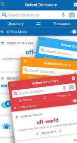 Oxford Dictionary of English & Thesaurus-3