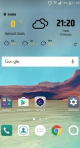 Simple weather & clock widget (no ads)-2