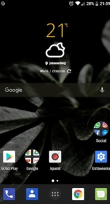 Simple weather & clock widget (no ads)-4
