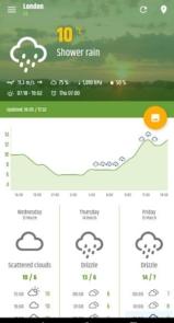 Simple weather & clock widget (no ads)-8