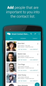 Smart Contact Reminder Call, messages-1