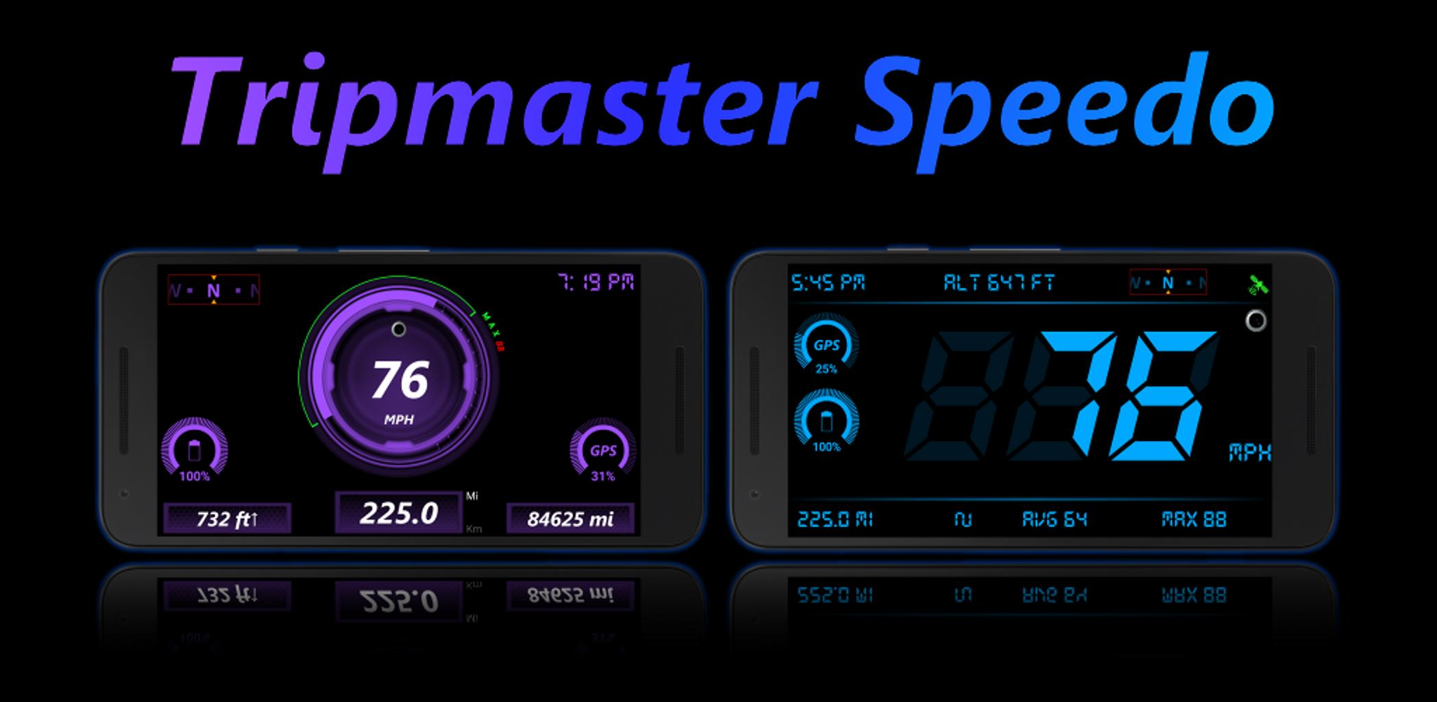 Speedometer & Odometer - TripMaster Car and Bike-Cover
