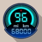 Speedometer & Odometer - TripMaster Car and Bike-Logo