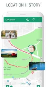 Family GPS tracker KidsControl-6