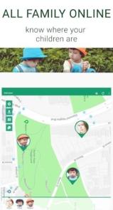 Family GPS tracker KidsControl-9