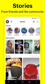 دانلود Snapchat - اپلیکیشن اسنپ چت اندروید