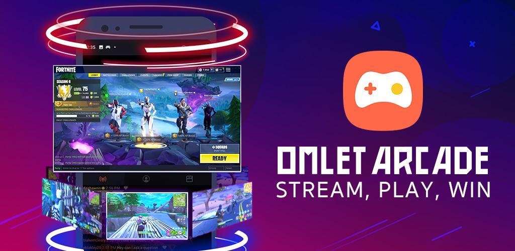 Omlet Arcade - Screen Recorder, Live Stream Games-Cover