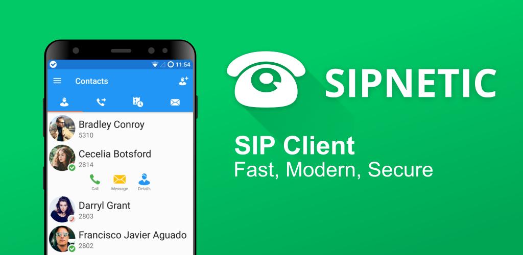 دانلود Sipnetic Premium –اپلیکیشن برقرای تماس VoIP اندروید