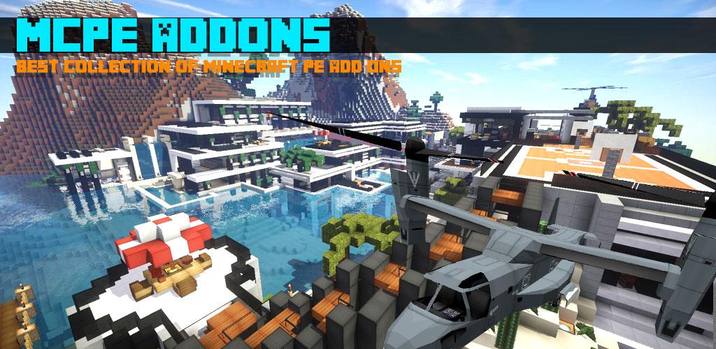 دانلود Addons for Minecraft - اپلیکیشن پلاگین ماینکرافت اندروید