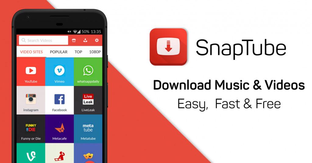 دانلود برنامه اسنپ تیوب SnapTube برای اندروید