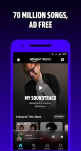 دانلود Amazon Music - اپلیکیشن آمازون موزیک اندروید