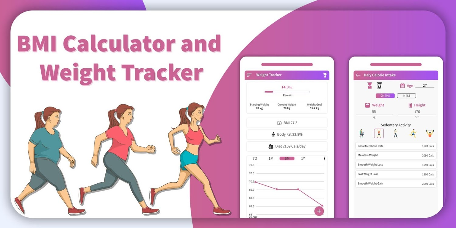 BMI and Weight Tracker -Cover