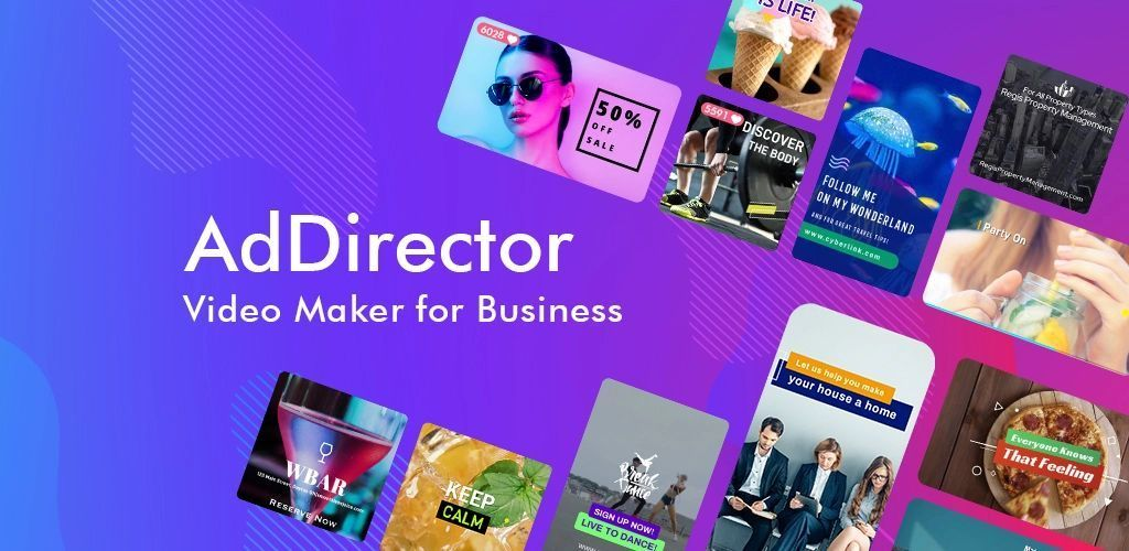 AdDirector Video Maker for Business - cover