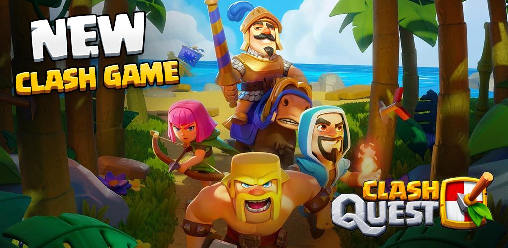 دانلود Clash Quest - بازی کلش کوئست برای اندروید