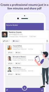 دانلود Professional Resume Builder - برنامه ساخت رزومه در اندروید