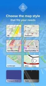 دانلود Bikemap - Your Cycling Map & GPS Navigation premium - مسیریاب و نقشه دوچرخه سواری اندروید
