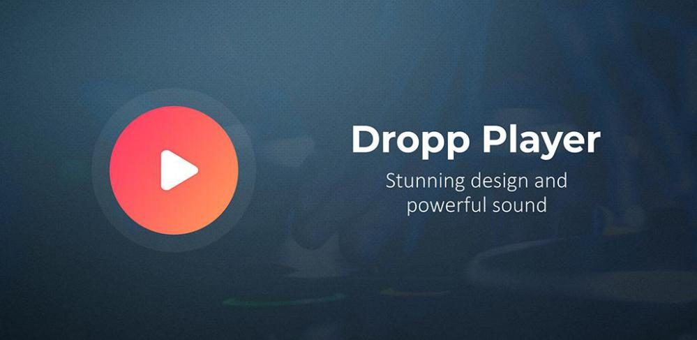 Dropp Music Player for MP3