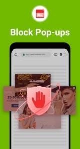 دانلود Free Adblocker Browser - Adblock & Private premium - مرورگر ضد تبلیغات وب اندروید