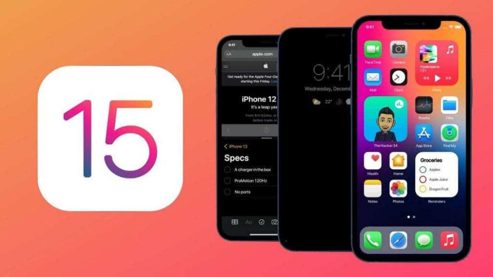 Launcher iOS 15 - cover
