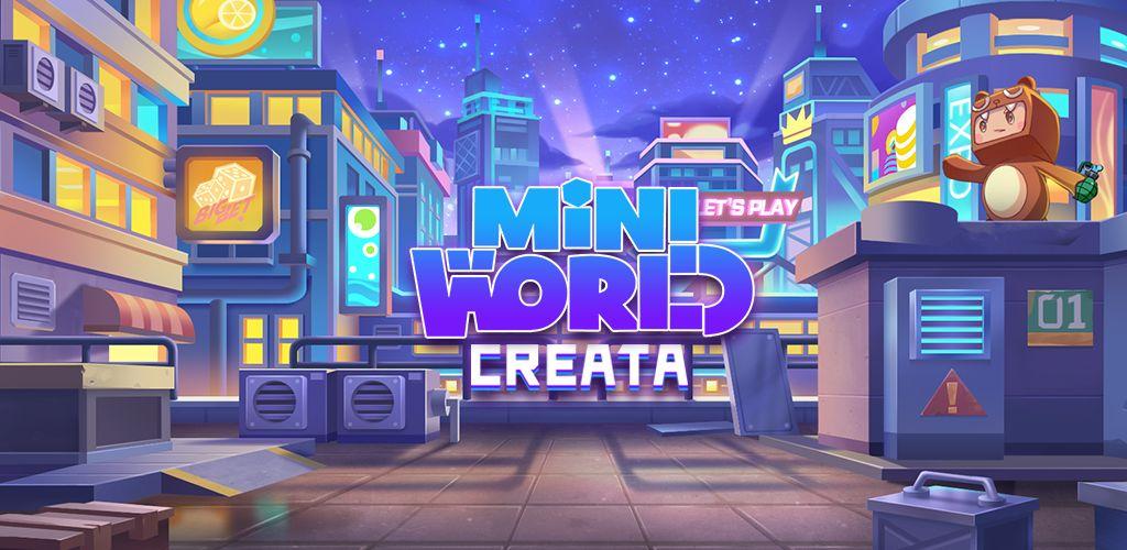 دانلود Mini World: CREATA mod - بازی ماجراجویی جهان کوچک اندروید