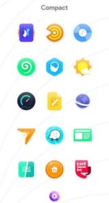 دانلود Nebula Icon Pack premium - آیکون پک زیبا، جذاب و ابری اندروید