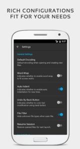 دانلود QuickEdit Text Editor premium - ویرایشگر متن سریع و پر امکانات اندروید