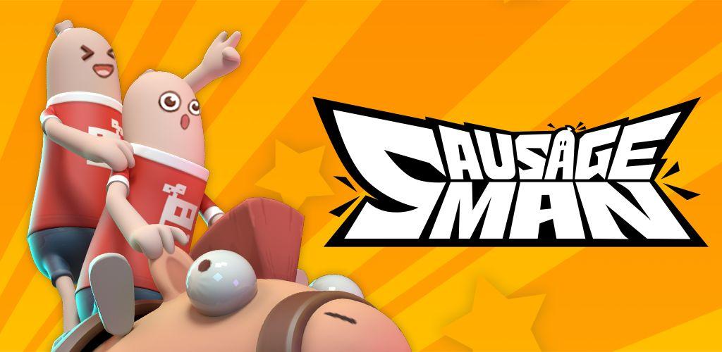 دانلود Sausage Man mod - بازی بتل رویال مرد سوسیسی اندروید + دیتا