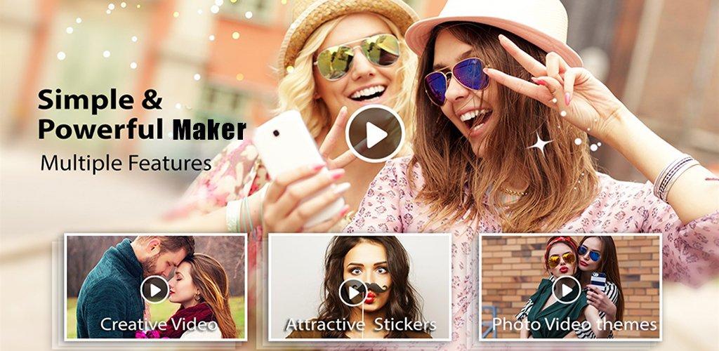 دانلود V328 - Video Maker Photo Music Pro - برنامه ساخت آسان اسلایدشو در اندروید